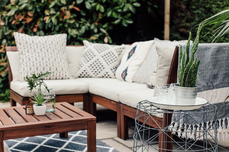 A Patio For Lounging