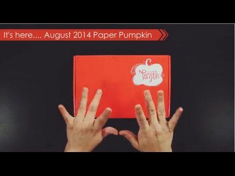 Paper Pumpkin August 2014