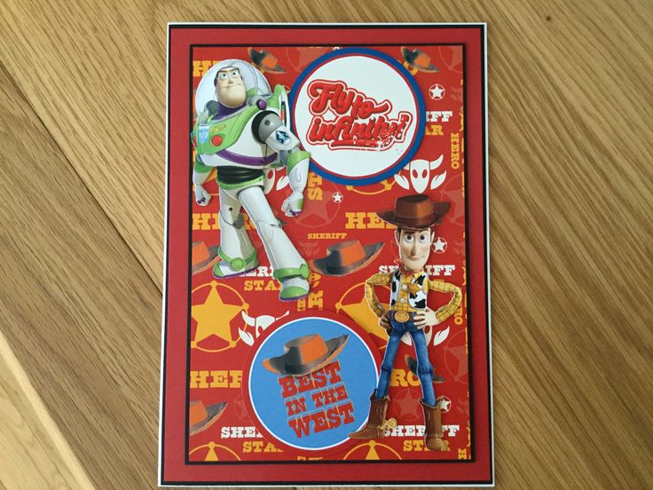 Toy story card