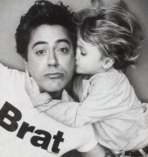 Robert Downey Jr Kids: Robert Downey Jr. And His Son, Indio. What A Great Picture