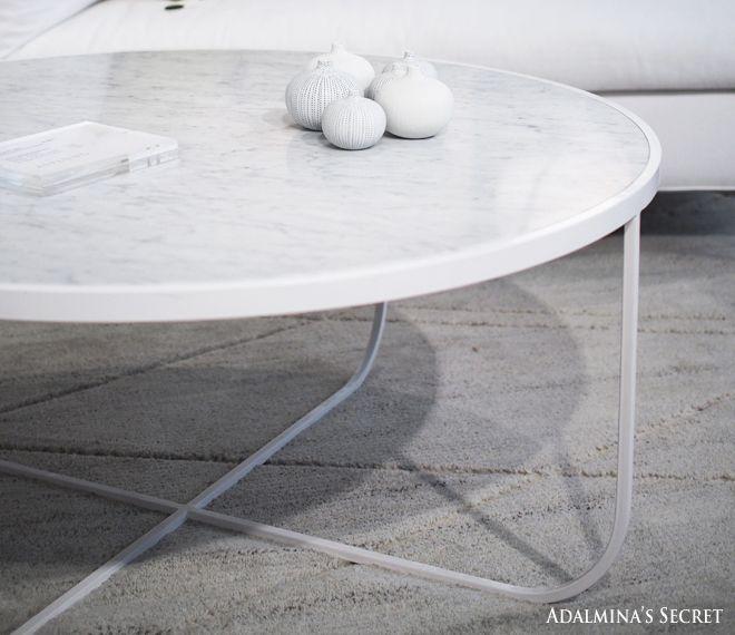 Marble coffee table - Adalmina's Secret