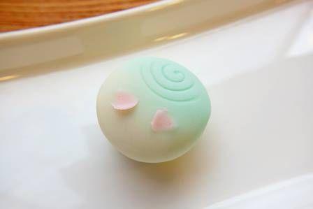 上生菓子【花いかだ】 - 大和市 福田 桜の名所 千本桜 和菓子 みどりや