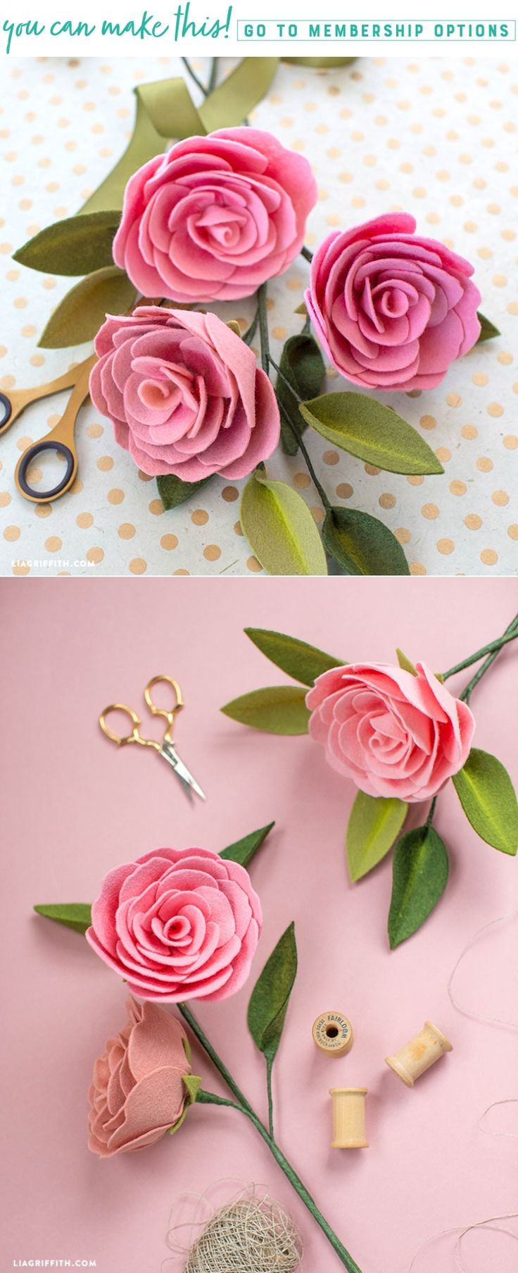 Soft and Sweet ✨ This gorgeous Camellia is the latest addition to our DIY felt flower projects. Pan Pastels give these flowers a realistic depth. Check out this project here https://liagriffith.com/camellia-diy-felt-flower/ * * * #felt #feltcute #feltcraft #diy #diycraft #diycrafts #diyidea #diyideas #diyinspiration #diyproject #diyprojects #diyflower #feltflower #feltflowers #camellia #camellias #craft #scissor #scissors #madewithlia