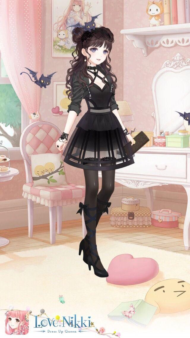 Love Kiki Stylist Queens — lovenikki-outfits:   Dark Halloween || By: Admin