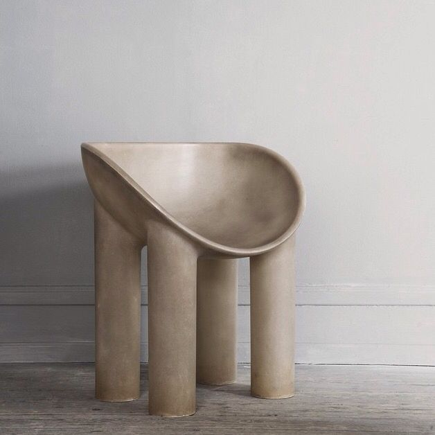 Roly Poly Dining Chair by Faye Toogood via Studio Oliver Gustav