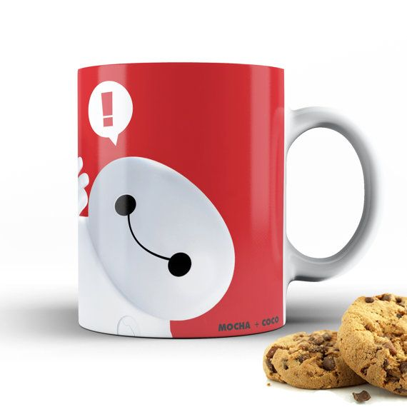 Baymax Kid | Big Hero 6  - Unique Coffee Mug - Coffee Lover Gift
