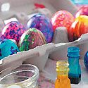 Coloring Easter Eggs ... Learn all about coloring Easter eggs with these easy and fun Easter egg dying tips and techniques.