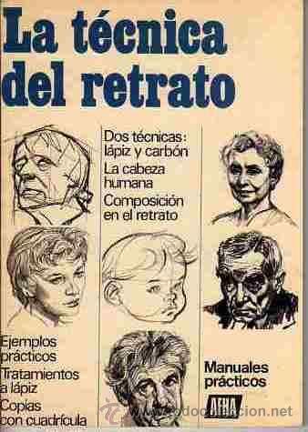 LIBROS DE DIBUJO Y PINTURA (LA TECNICA DEL RETRATO) (AFHA) (Libros de Segunda Mano - Bellas artes, ocio y coleccionismo - Pintura)