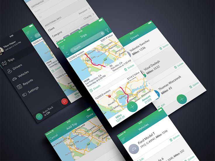 Secret Trips App by Alexander Zaytsev