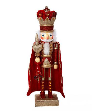 Take a look at this Red King of Hearts Nutcracker by The Nutcracker Collection on #zulily today!