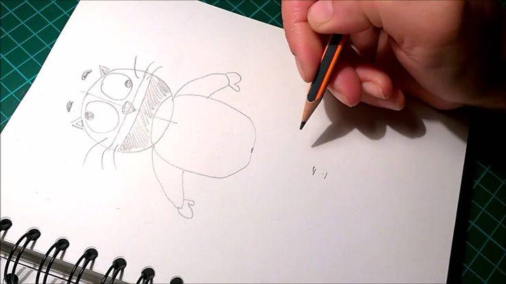 1000 id es sur le th me comment dessiner un chat sur - Dessiner une marmotte ...