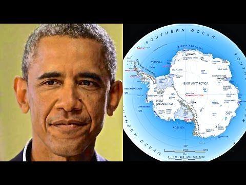 Obama's Secret Antarctica Trip: A Planned WW3 Escape Route? (Operation Highjump Russia + U.S.) – The Phaser