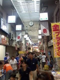 「第22回生野銀座商店街夏祭り」  商店街が子供たちであふれかえる日です