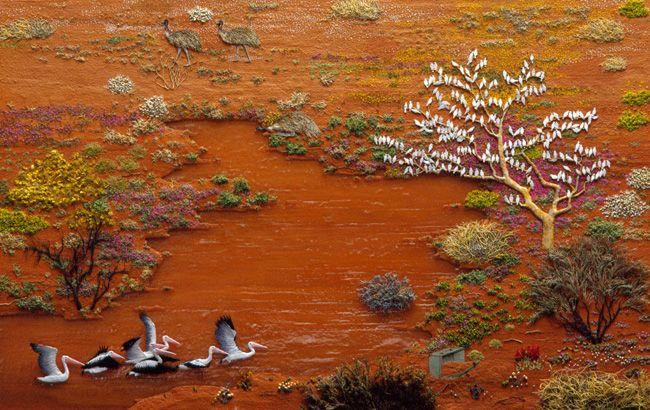 Desert River – Jeannie Baker