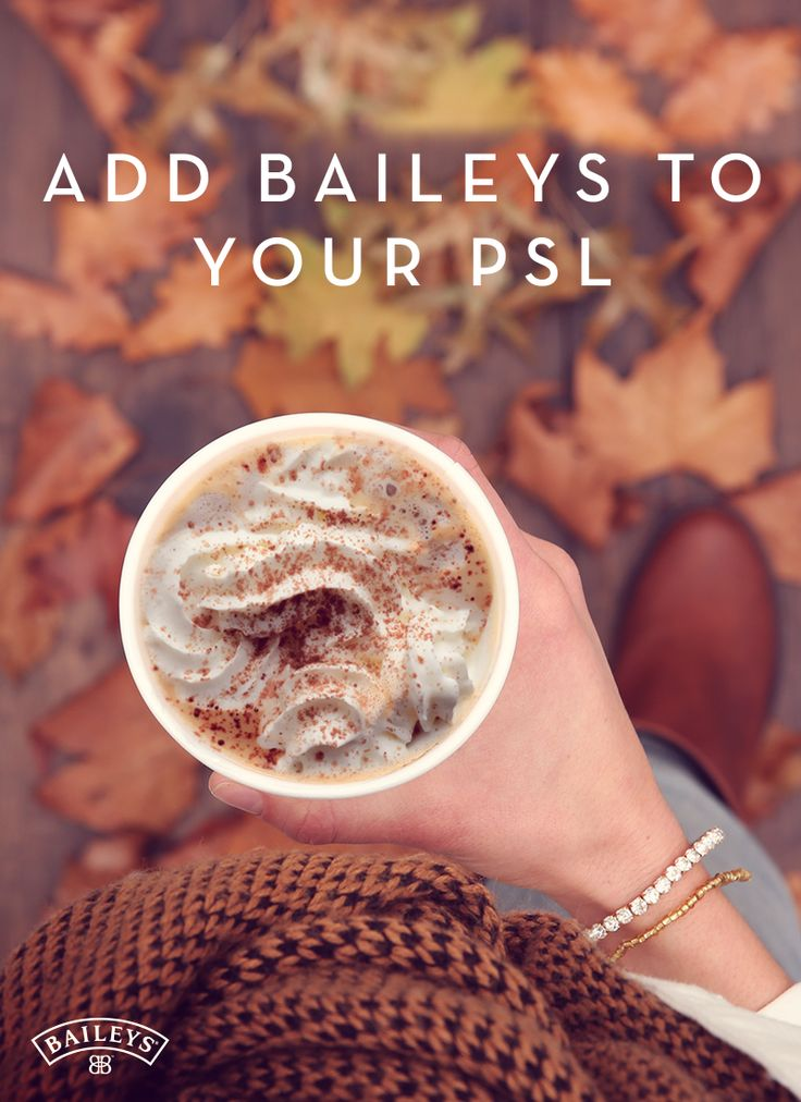 Fall is ALL about layering, not only in your wardrobe, but also in your drinks! With PSL season finally here, we can't help but notice how flawlessly a sweater and boots complements the delicious flavors of pumpkin and nutmeg. To complete the ensemble, just add a warm scarf and a splash of Baileys® Original Irish Cream to your Pumpkin Spice Latté!