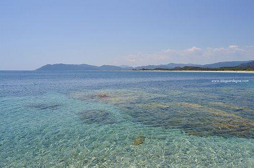 La bellissima spiaggia di Murtas