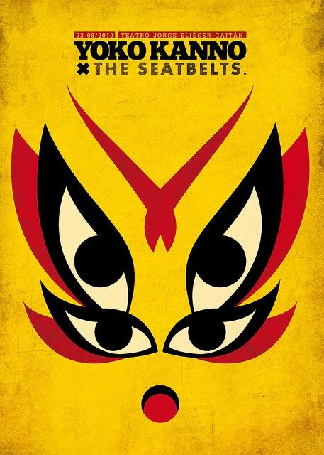 Cartel / Yoko kanno X The Seatbelts  Concierto imaginario.
