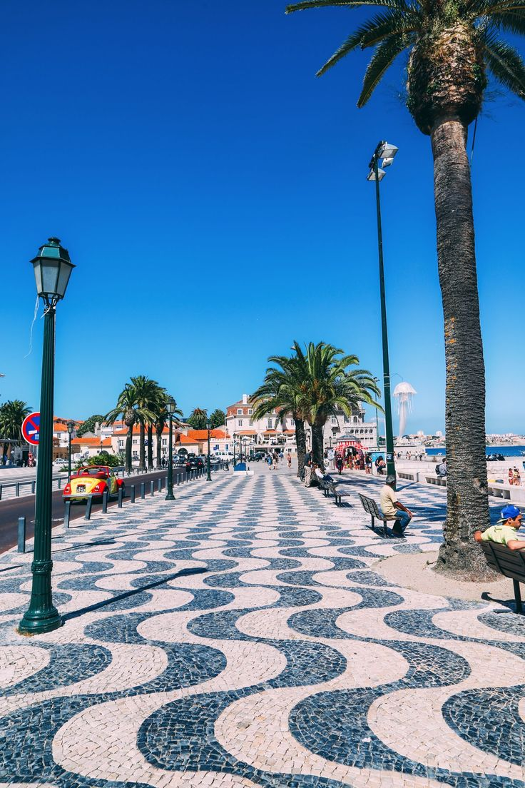 The Beautiful Seaside Town Of Cascais In Portugal only 30 mins away from lisbon