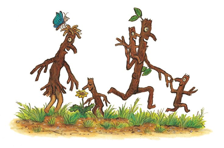 Stick Man and his Stick family! Illustration copyright © Axel Scheffler 2008. Reproduced with the permission of Alison Green Books An imprint of Scholastic Ltd. http://www.forestry.gov.uk/stickman