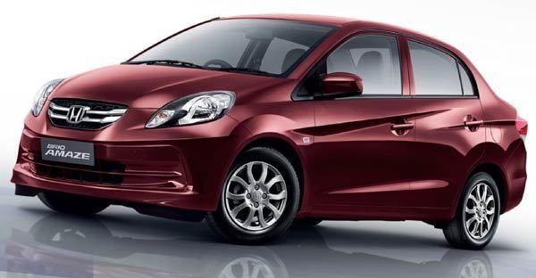 The Honda Amaze, also known as the Honda Brio Amaze, is a four-door subcompact sedan produced by Hon...