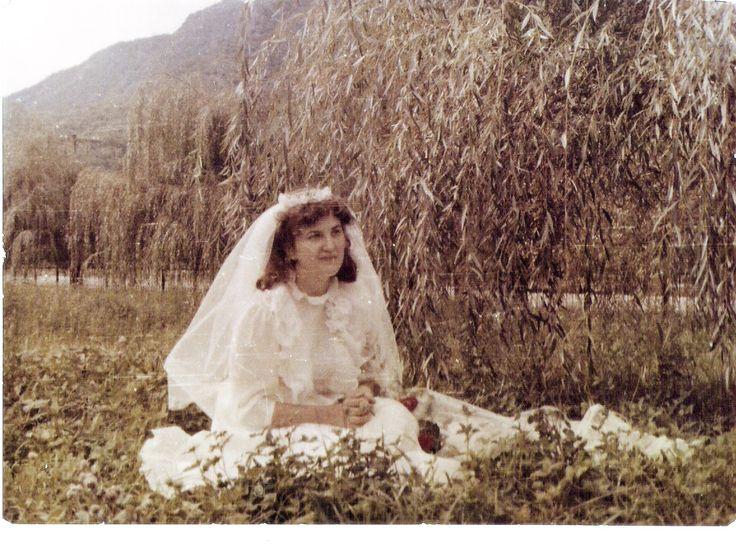 A beautiful bride..