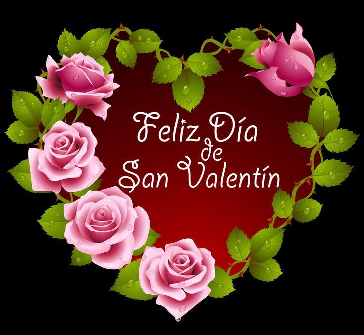 Imagenes+de+Corazones+Con+La+Frase+Feliz+Día+San+Valentin