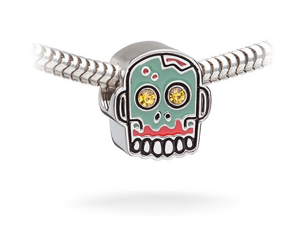 zombie charm bead charm bead beads and products