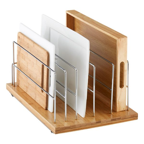 25 best ideas about cabinet organizers on pinterest for Bamboo kitchen cabinets lowes