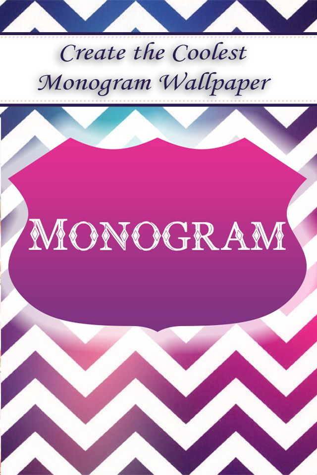 Monogram -- iPhone app Catch  it https://itunes.apple.com/us/app/monogram-!!/id806977895?mt=8