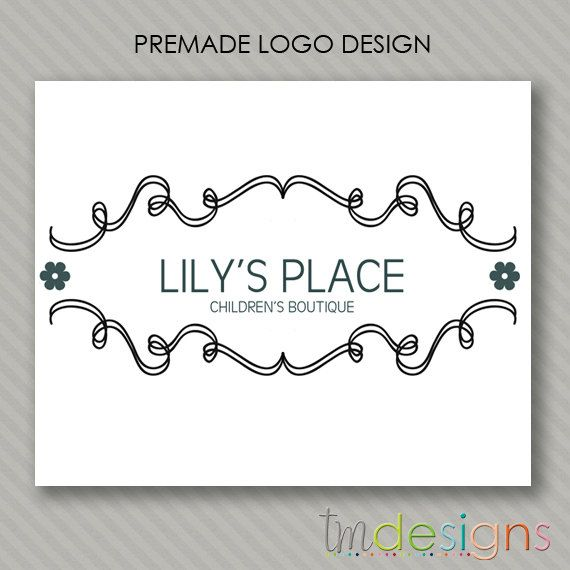 Hey, I found this really awesome Etsy listing at http://www.etsy.com/listing/106851248/premade-logo-design-the-lily-design