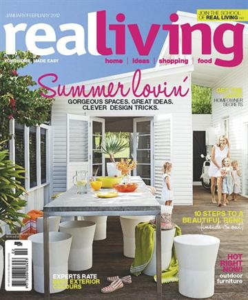 Beach Cottage Via Real Living. Find This Pin And More On Design Magazines  ...