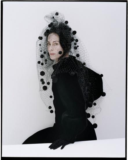 Lady Amanda Harlech. Photo: Tim Walker for W, 2012. Veil: Piers Atkinson.