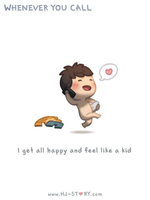 HJ-Story ::Feeling like a kid