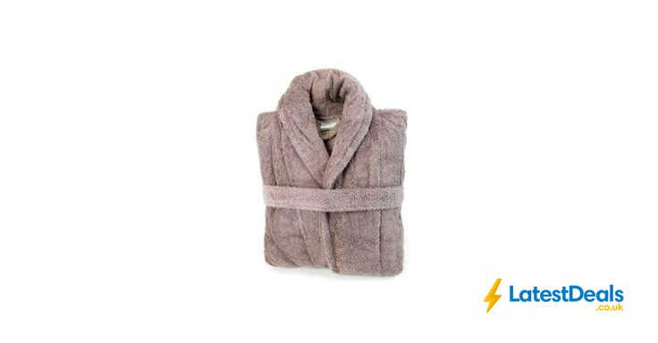 Egyptian cotton dressing gown various colours Free C&C, £30.40 at Dunelm