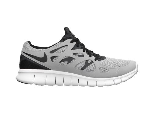 Nike Free Run+ Wolf Grey/Black-Anthracite-White