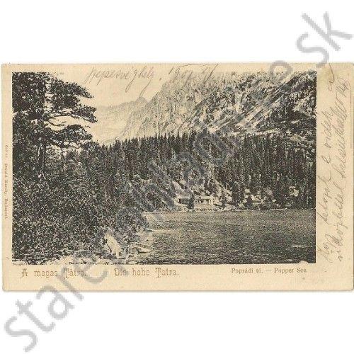 pohľadnica Vysoké Tatry, a magas Tátra - Pohľadnice