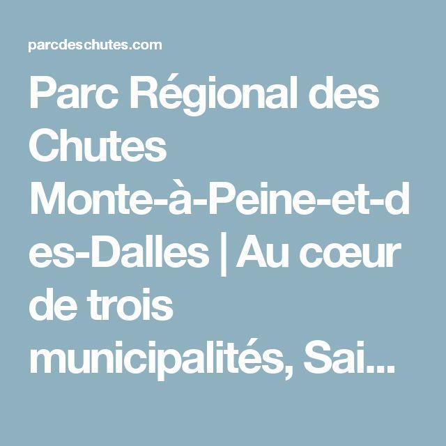 Parc Régional des Chutes Monte-à-Peine-et-des-Dalles | Au cœur de trois municipalités, Sainte-Béatrix, Saint-Jean-de-Matha, Sainte-Mélanie sur un réseau de sentiers pédestres de 17 km, d'aires de pique-nique, d'escaliers, de passerelles, de belvédères et d'un sentier d'interprétation de la nature.