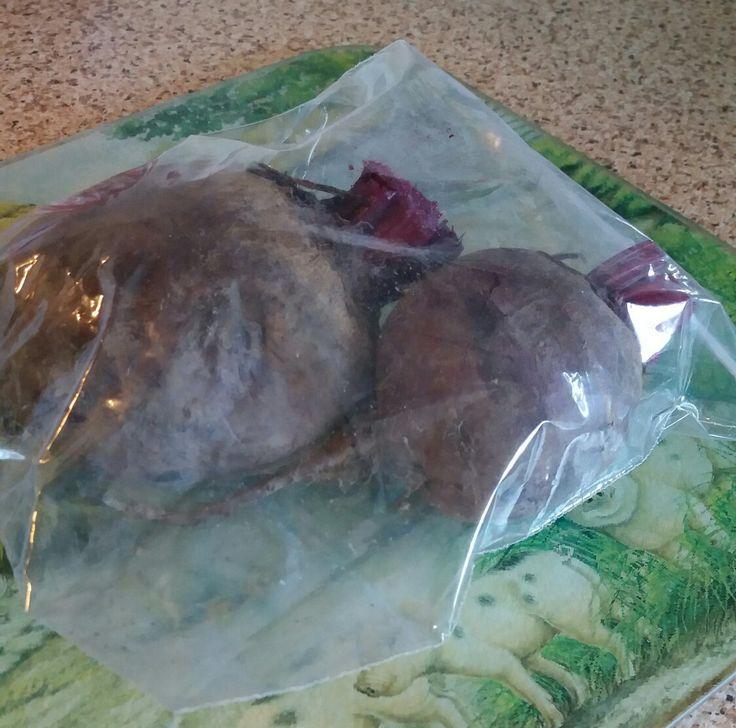 Beetroot Storage- 2weeks in a sealed bag in the fridge