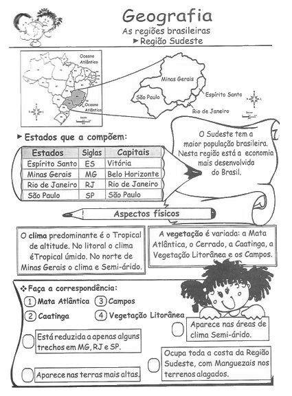 Atividades de Geografia para 5° ano - ESPAÇO EDUCAR