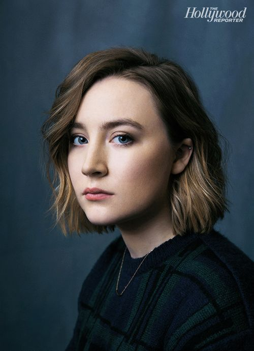 Stockholm, Pennsylvania's Saoirse Ronan photographed at The Hollywood Reporter photobooth during the 2015 Sundance Film Festival in Park City, Utah on Jan. 23
