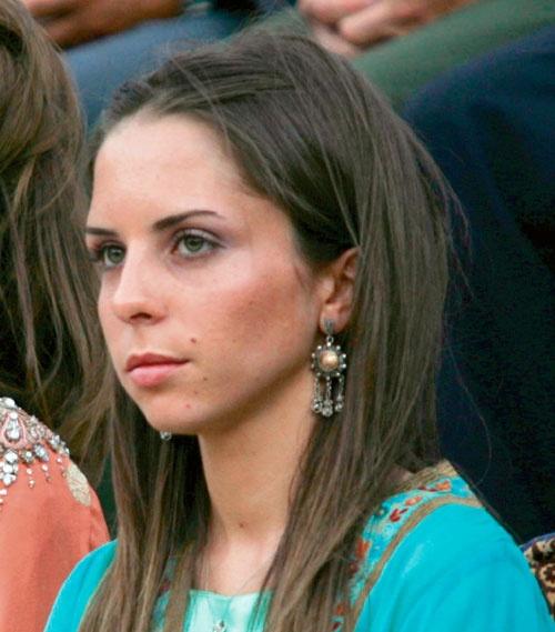 Imán de Jordania, hija de la reina Noor