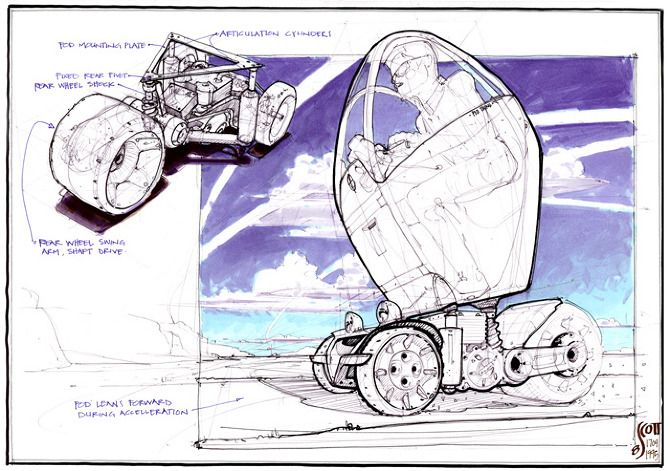 Miscellaneous Vehicle Sketches - DRAWTHROUGH: the personal and professional work of Scott Robertson