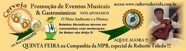 Cerveja em Boa Companhia: SERESTA na Rádio Verde é Vida Quintas Feira, a par...