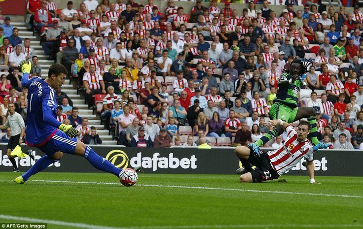 Sunderland 1-1 Swansea: Defoe hits back after Gomis opener ...