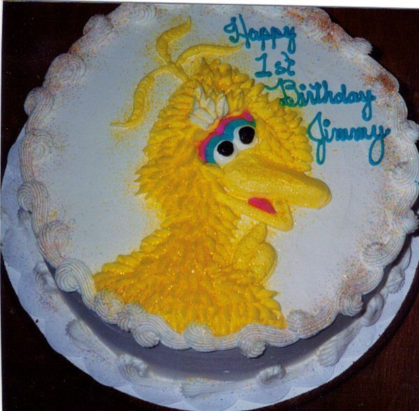 Big Bird cake My Kid Cakes Pinterest Bird cakes, Big ...