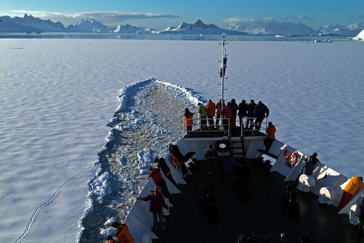 Calatorie spre Polul sud!