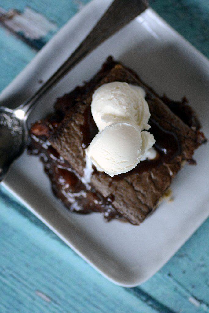 molten lava brownie coconut marshmallow sm'ores