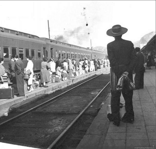La Estación de Tren, Marcos Chamudes, 1950