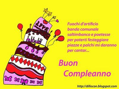 706 best images about buon compleanno on pinterest for Tanti auguri a te suoneria per cellulari