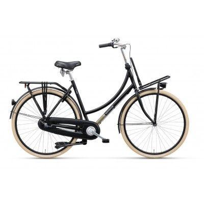 Rower Miejsk Damski Batavus CNCTD. Połączenie nowoczesności z klasyką i prostotą daje efekt niezawodności i stylu. http://damelo.pl/damskie-rowery-miejskie-stylowe/814-rower-miejski-damski-batavus-cnctd.html